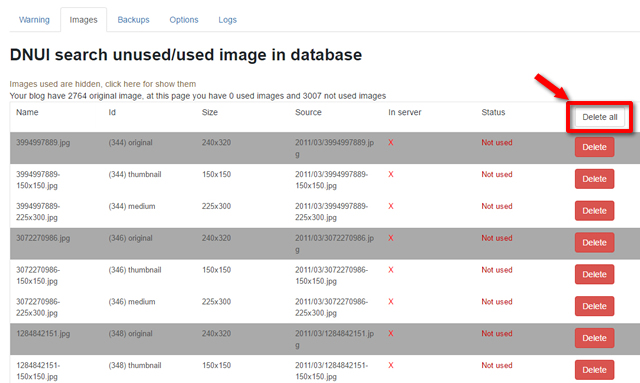 【wordpress】直接サーバーから削除した画像がメディアライブラリから消えない時の対処法